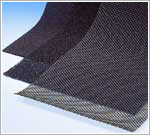 Sheet activated carbon